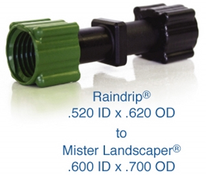 Picture of Upgrade from Raindrip 1/2-in Poly to Mister Landscaper 1/2-in Poly