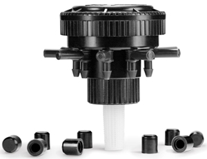 Picture of 9 Outlet Sprinkler Converter w/9 Caps (Qty 1)
