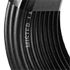 Picture of 30-ft Coil 1/4-in Black Vinyl Tubing