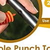 Picture of Hole Punch Tool/Goof Plugs