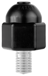 Picture of 1/2-in PVC Shrub Adapter w/Flow-Control Screen (Qty 2)