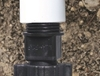 Picture of 1/2-in PVC MPT Coupling to 1/2-in Poly Tubing (Qty 1)